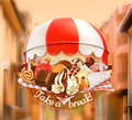 Coffee And Pastry Shop Royalty Free Stock Photos - 56956978