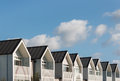 Row Of New Houses Royalty Free Stock Photos - 56961248
