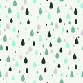 Seamless Pattern With Rain Drops. Can Be Used To Fabric Design, Wallpaper, Decorative Paper, Web Design, Etc. Royalty Free Stock Photography - 56974997