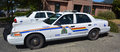 Tofino RCMP Police Car Royalty Free Stock Image - 56978786