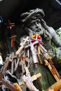 Hill Of Crosses Royalty Free Stock Photography - 56982217