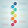 Number Steps Infographic 7 Stock Photos - 56999973