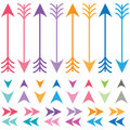 Colorful Arrows Set Stock Image - 57015811