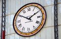 Lime Street Station Clock. Royalty Free Stock Photography - 57024497