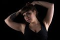 Photo Of Curvy Woman With Tattoo On Hand Royalty Free Stock Photo - 57038135