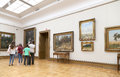 State Tretyakov Gallery Is An Art Gallery In Moscow, Russia, The Foremost Depository Of Russian Fine Art In The World. Stock Image - 57043761