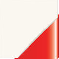 Red Paper Corner Royalty Free Stock Photos - 57060488