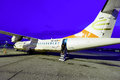 Darwin Airline ATR-72 Royalty Free Stock Photography - 57105347