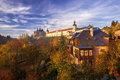 City Center Of Kutna Hora In Fall Stock Photography - 57107652