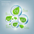 02 Infographics Bio Bubble Royalty Free Stock Photo - 57127405