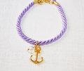 Bracelet With Anchor Stock Photography - 57136832