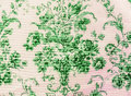 Retro Lace Floral Seamless Pattern Green Fabric Background Vintage Style Royalty Free Stock Photo - 57141055