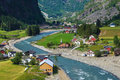 Flam Village Stock Images - 57160634