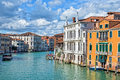 Venice Italy, The Grand Canal Stock Image - 57169171