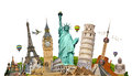 Illustration Of Famous Monument Of The World Royalty Free Stock Image - 57179126