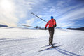 Cross-country Skiing Royalty Free Stock Photo - 57179745