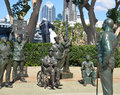 Bronze Statues Of A National Salute To Bob Hope Royalty Free Stock Photo - 57192815