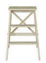Wooden Ladder Isolated On White Stock Photo - 57210740