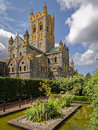 Buckfast Abbey Devon England Royalty Free Stock Image - 57220306