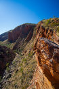 Serpentine Gorge Lookout Royalty Free Stock Photos - 57225688