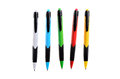 Colored Pens On A White Background Isolated Royalty Free Stock Images - 57237189