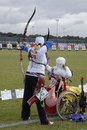 WORLD ARCHERY CHAMPIONSHIPS IN DENMARK Royalty Free Stock Photos - 57264768
