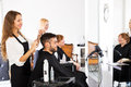 Man In The Barbershop Royalty Free Stock Photos - 57279878