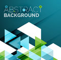 Abstract Geometric Background. Modern Overlapping Royalty Free Stock Photo - 57302665