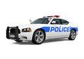 Police Car Isolated Stock Photo - 57347270