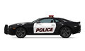 Police Car Isolated Royalty Free Stock Images - 57347919