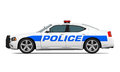 Police Car Isolated Royalty Free Stock Photos - 57348168