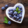 Fresh Blueberries Royalty Free Stock Photo - 57348865