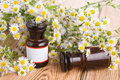 Alternative Medicine Concept - Fragrant Oil In A Bottle With Cam Stock Photo - 57357510