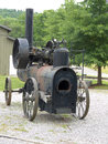 Vintage Portable Frick Steam Engine Stock Photography - 57379902