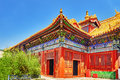 Beautiful View Of Yonghegong Lama Temple.Beijing. Lama Temple Is Royalty Free Stock Image - 57392556