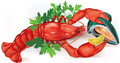 Lobster And Mussel Royalty Free Stock Photos - 57412948