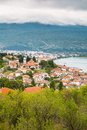Aerial View Of Ohrid Royalty Free Stock Images - 57414929