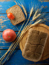 Wheat And Bread Royalty Free Stock Photo - 57417775
