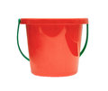 Red Children Bucket Stock Photography - 57425632