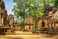 Ancient Buildings Of Thommanon Temple In Angkor, Cambodia Royalty Free Stock Photo - 57429565
