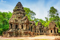 View Of Main Tower Of Ancient Thommanon Temple, Angkor, Cambodia Royalty Free Stock Image - 57429646