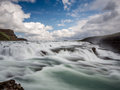 Gulfoss Waterfall Just Before The Fall 1 Stock Images - 57435714