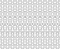 Twist Rounds Seamless Pattern Royalty Free Stock Images - 57436299