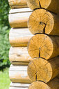 Wall Of A Rural Log House Royalty Free Stock Photo - 57441325