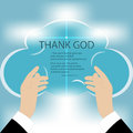 Hands To God Royalty Free Stock Photography - 57453077