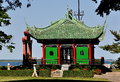 Newport, RI: Chinese Tea House At Marble House Stock Photography - 57455832