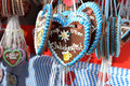 Gingerbread Hearts On Oktoberfest Stock Images - 57460134