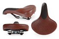 Leather Bicycle Saddle Stock Images - 57461754