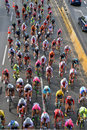 Tour De Pologne 2015 Road Bicycle Race, Warsaw Stock Image - 57462761