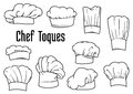 Chef Caps And Hats Set Stock Image - 57464431